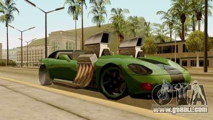 Banshee Twin Mill III Hot Wheels for GTA San Andreas