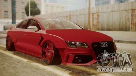 Audi RS7 X-UK L3D for GTA San Andreas