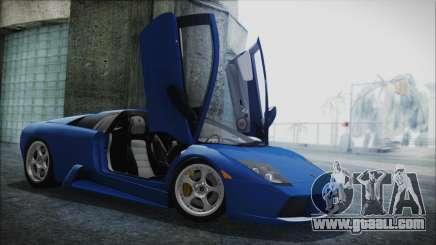 Lamborghini Murcielago 2005 Yuno Gasai HQLM for GTA San Andreas