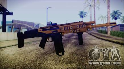 Bushmaster ACR Gold for GTA San Andreas