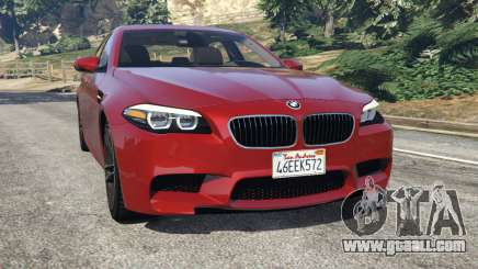 BMW 535i 2012 for GTA 5