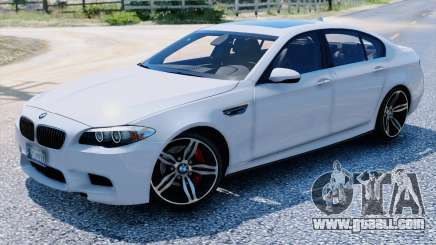 BMW M5 F10 2012 for GTA 5