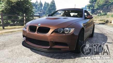 BMW M3 (E92) GTS v0.1 for GTA 5