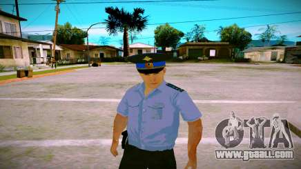 The employee of the Ministry of Justice v2 for GTA San Andreas