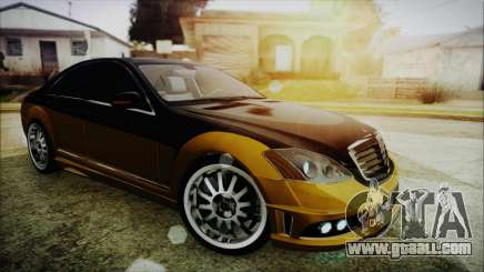 Carlsson Aigner CK65 RS v2 for GTA San Andreas