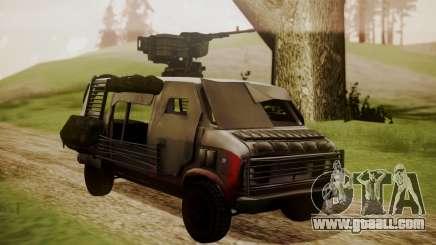 BF3 Rhino for GTA San Andreas