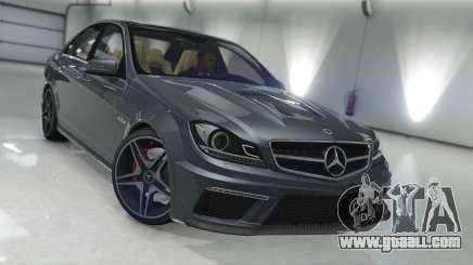 Mercedes-Benz C63 AMG v1 for GTA 5