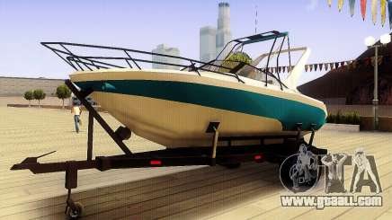 GTA V Boat Trailer for GTA San Andreas