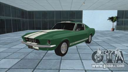 Ford Mustang Shelby GT500 1967 for GTA San Andreas