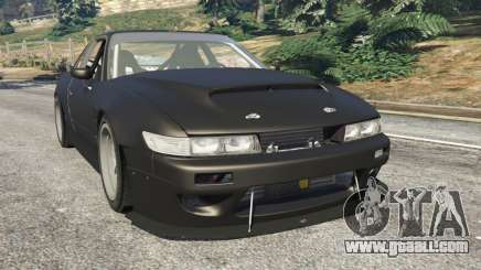 Nissan Silvia S13 v1.2 [without livery] for GTA 5