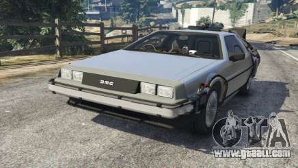 DeLorean DMC-12 Back To The Future v1.0 for GTA 5