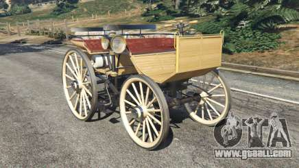 Daimler 1886 [wood] for GTA 5