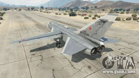 GTA 5 Su-24M third screenshot