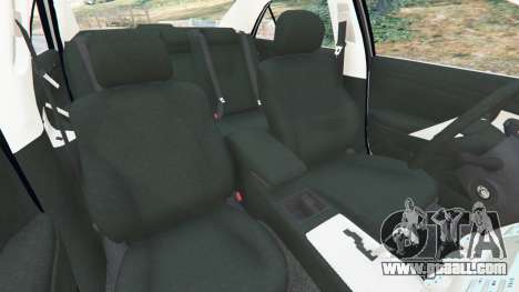 GTA 5 Toyota Camry 2011 right side view