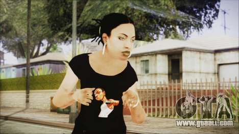 Left 4 Dead Rochelle for GTA San Andreas