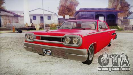 GTA 5 Declasse Clean Voodoo Bobble Version for GTA San Andreas