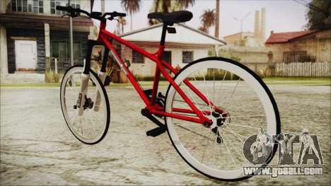 Scorcher Racer Bike for GTA San Andreas left view