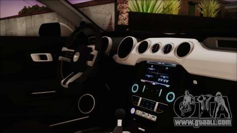 Ford Mustang Shelby GT350R 2016 Kirito Itasha for GTA San Andreas right view
