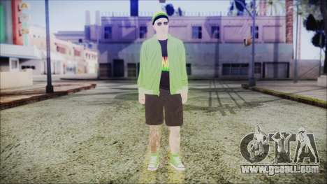 GTA Online Skin 44 for GTA San Andreas second screenshot