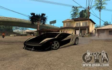 Lamborghini Gallardo Tunable v2 for GTA San Andreas