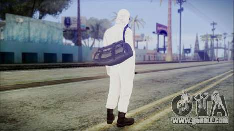 GTA 5 Online The Heist Gasmask Yellow for GTA San Andreas third screenshot