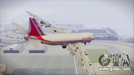 Boeing 747-237Bs Air India Emperor Ashoka for GTA San Andreas left view