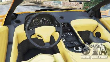 GTA 5 Lamborghini Diablo Viscous Traction 1994 rear right side view