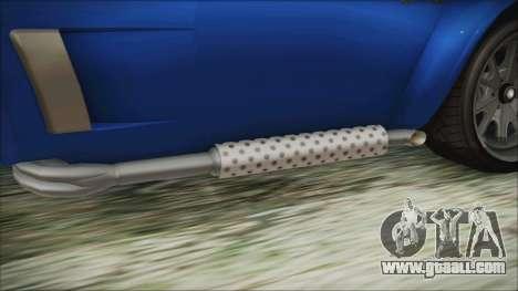 GTA 5 Declasse Mamba for GTA San Andreas right view