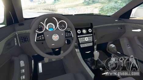 Cadillac CTS-V 2009 for GTA 5