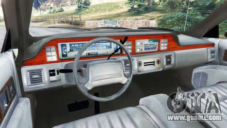 GTA 5 Chevrolet Caprice 1991 v1.2 rear right side view