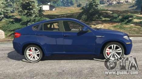 GTA 5 BMW X6 M (E71) v1.5 left side view