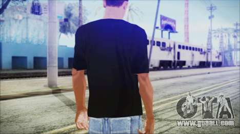Santa T-Shirt for GTA San Andreas third screenshot