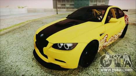 BMW M3 GTS 2011 HQLM for GTA San Andreas side view