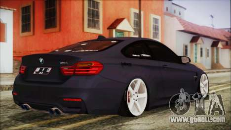 BMW M4 Stance 2014 for GTA San Andreas left view