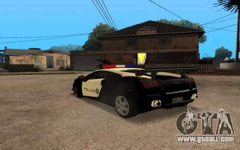 Lamborghini Gallardo Tunable v2 for GTA San Andreas right view