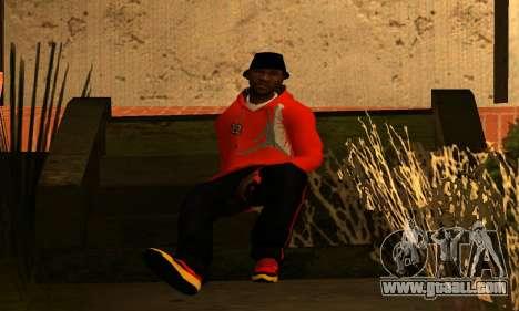 Mens Mega Pack for GTA San Andreas fifth screenshot