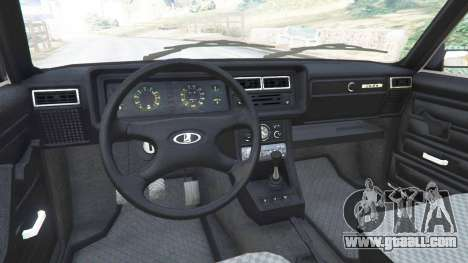 GTA 5 VAZ-2107 [Riva] v1.1 rear right side view