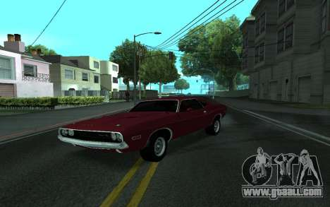 Dodge Challenger Tunable for GTA San Andreas