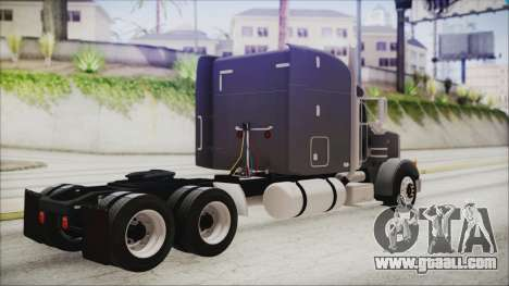 Peterbilt 378 2004 Ducky for GTA San Andreas left view