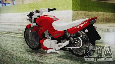 Yamaha YBR Tuning for GTA San Andreas left view