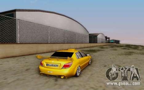 Ikco Dena Full Tuning for GTA San Andreas left view