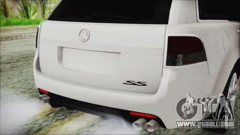 Holden Commodore VE Sportwagon 2012 for GTA San Andreas back view