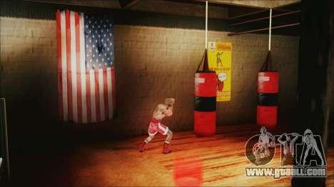 SF Goku Gym for GTA San Andreas forth screenshot