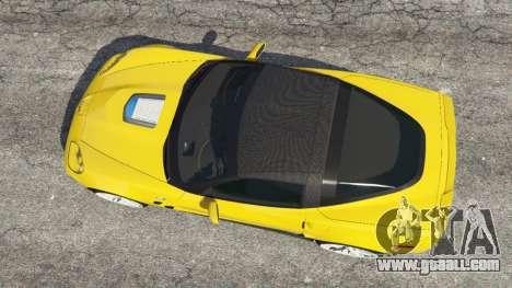 Chevrolet Corvette ZR1 for GTA 5