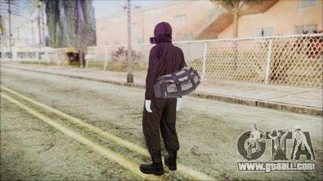 GTA 5 Online The Heist Gasmask White for GTA San Andreas third screenshot