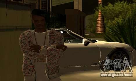 Mens Mega Pack for GTA San Andreas sixth screenshot