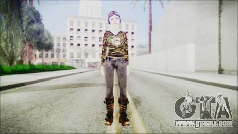 Clementine for GTA San Andreas second screenshot
