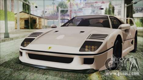 Ferrari F40 Gas Monkey for GTA San Andreas