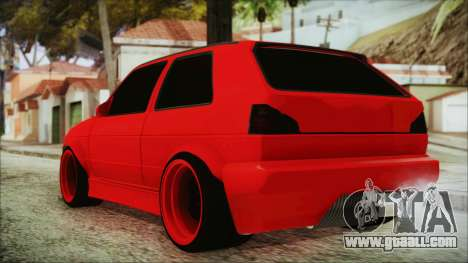 Volkswagen Golf 2 Ghetto Cult for GTA San Andreas left view