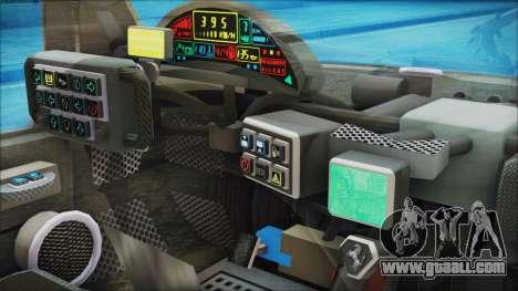 Ferrari P7 for GTA San Andreas right view